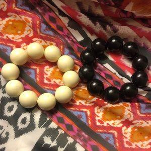 Jewelry - Bubble Gum Bead Elastic Bracelets